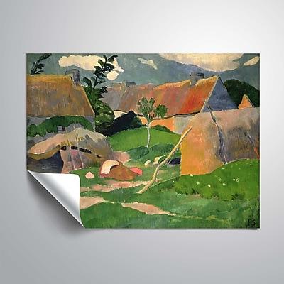 ArtWall Unidentified Landscape 14x18, Unframed (1SER002A1418P)