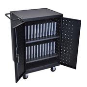 Offex 24-Laptop/Chromebook Charging Cart (OF-626-LLTP24-B)