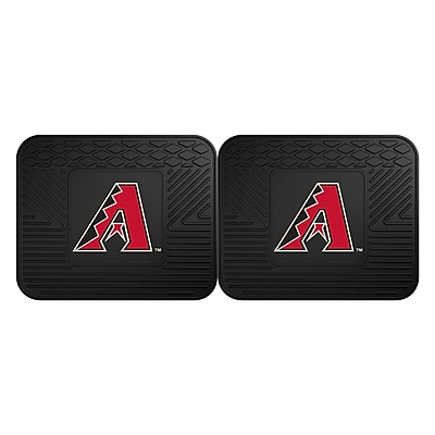 FANMATS Sports 14Lx17W Vinyl Rectangle Mat, Team Color (12325)