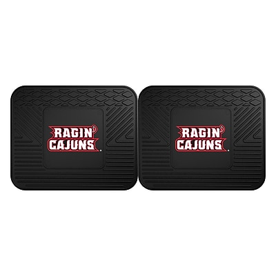FANMATS Sports 14Lx17W Vinyl Rectangle Mat, Team Color (16953)