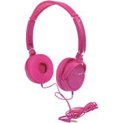 2BOOM HPM440P HPM440 Dyna Jam Hi-Fidelity Headphones (Pink)