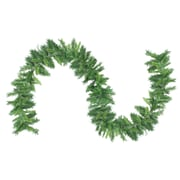 "Northlight 9' x 10"" Mixed 2-Tone Pine Artificial Christmas Garland, Unlit (32620416)"