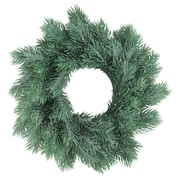 """Northlight 10"""" Traditional Frosted Green Pine Decorative Christmas Wreath (32621873)"""