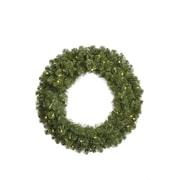 "VCO 30"" Pre-Lit Grand Teton Artificial Christmas Wreath, Clear Dura Lights (31463718)"