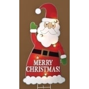 "Roman 3' Lighted Santa Claus ""Merry Christmas"" Yard Art Decoration (31320336)"