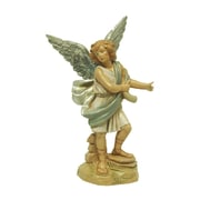 "Roman Exclusive Fontanini 5"" Raphael Angel Signed Nativity Figurine #65288S (7498124)"