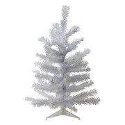 "Northlight 24"" White Balsam Pine Mini Artificial Christmas Tree, Unlit (32615038)"