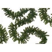 "Northlight 50' x 10"" Commercial Length Canadian Pine Artificial Christmas Garland, Unlit (32614423)"