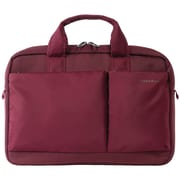 "Tucano 13.3""-14"" Piú Slim Notebook Bag, Burgundy (BPB1314-BX)"