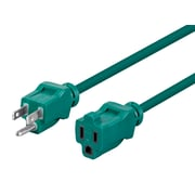 Monoprice 25'L 16/3 SJTW Green Outdoor Extension Cord (113834)