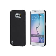 Monoprice PC Case with So'L Sand Finish for Samsung Galaxy S6 Pumice Black (113207)