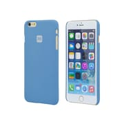 "Monoprice PC Case with So'L Sand Finish for 5.5"" iPhone 6 Plus and 6s Plus Azurite Blue (112344)"