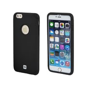 "Monoprice XoShell Case for 5.5"" iPhone 6 Plus and 6s Plus Black (112340)"