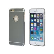 """Monoprice Metal Alloy Protective Case for 5.5"""" iPhone 6 Plus and 6s Plus Gray (112398)"""