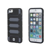 "Monoprice Armored Case for 4.7"" iPhone 6 and 6s Metallic Gray (112258)"