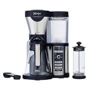 Ninja CF080-RB Refurbished Coffee Bar Auto-iQ Brewer with Glass Carafe