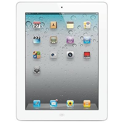 APPLE IPAD416W-RB 9.7 IN. Refurbished IPAD 4 16 GB iOS 6 - White 24307469