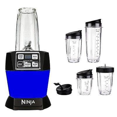Ninja 32 oz. Refurbished Nutri Auto-iQ Pro Complete Blender - Purple (BL487QSB-RB)