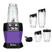 Ninja 32 oz. Refurbished Nutri Auto-iQ Pro Complete Blender - Platinum (BL487QPM-RB)