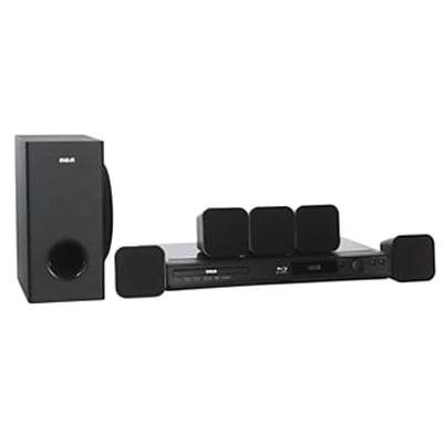 RCA RTB10223-RB Refurbished 5.1 CH Home Theater System with Blu-ray Player - Black 24307480