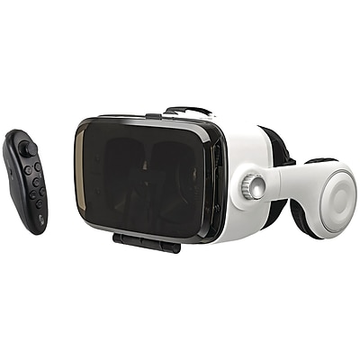 iLive IVR77BDL Virtual Reality Goggles with Headphones & Bluetooth Remote 24306312