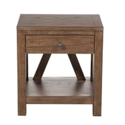 Right2Home Side Table, Medium Wood (DS-D153-005)