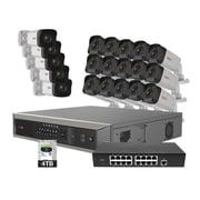 Revo America Ultra Plus HD 32 Ch. 4TB NVR Surveillance System with 20 2 Megapixel Cameras