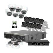 Revo America Ultra Plus HD 32 Ch. 4TB NVR Surveillance System with 20 4 Megapixel Cameras