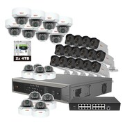 Revo America Ultra Plus HD 32 Ch. 8TB NVR Surveillance System with 32 4 Megapixel Cameras