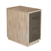 Right2Home 3-Drawer Accent Chest, Light Wood (DS-D153-009)
