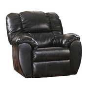 Offex Signature Design By Ashley Dylan Durablend Rocker Recliner in Onyx Durablend (OF-M-56-ONX-G)