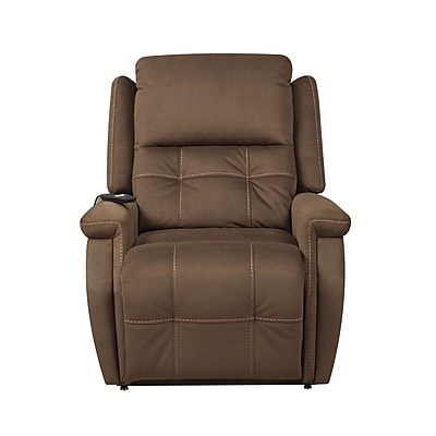 Right2Home Hower Dual Motor Oversized Capacity Lift Chair, Brown (A281-016-354)