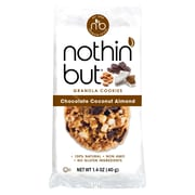 Nothin' But Chocolate Coconut Almond Granola Cookies,1.4 Ounce, 12 Count(BBD74878)