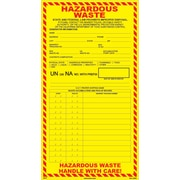 HCL Hazardous Waste, Multiple Pickup Date & Accumulation Label (SHL00060611)