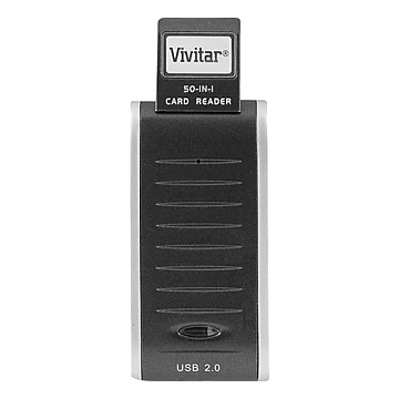 Vivitar RW-50 50-in-1 Card Reader/Writer