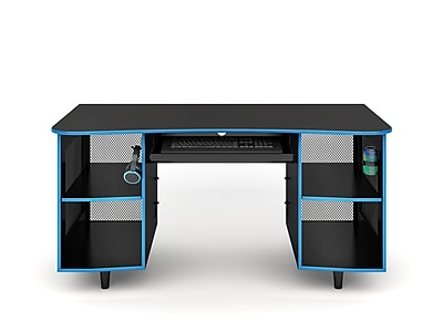 Whalen Emergent Gaming Desk, Black (SPUS-EGDB)