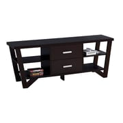 "Monarch Specialties 60"" Long TV Stand, Cappuccino (I 2760)"