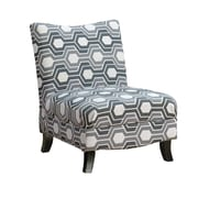 Monarch Specialties Polyester Fabric Accent Chair, Gray (I 8048)