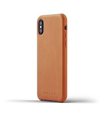 Mujjo Full Leather Case for iPhone X, Tan (MUJJO-CS-095-TN)