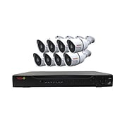 REVO America Revo Aero HD 1080p 16 Channel Video Security System with 8 Indoor/Outdoor Bullet Cameras (RAJ162A2B8G-2T)