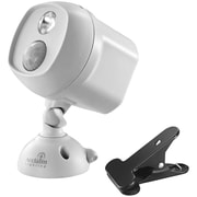 Acclaim Lighting Motion-Activated LED Spotlight with Clamp, Dove Gray (ACLB222GR)