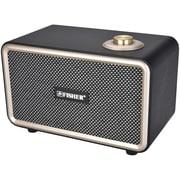 Fisher FNBT110K Retro Beat Portable Bluetooth Speaker (Black)