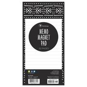 TF Publishing Mudcloth & Moroccan Magnetic Memo Pad (99-8509)