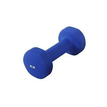 Sunny Health & Fitness Neoprene Dumbbell, 8 Lbs (NO. 021-8)