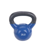 Sunny Health & Fitness Vinyl Coated Kettle Bell, 20Lbs, NO. 066-20