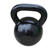 Sunny Health & Fitness Black Kettle Bell, 50Lbs, NO. 067-50