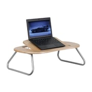 Offex Angle Adjustable Laptop Computer Desk with Natural Top (OF-NA-JN-2779-G)
