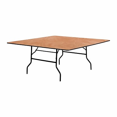 Offex 72'' Square Wood Folding Banquet Table (OF-YT-WFFT72-SQ)