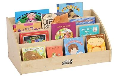 Offex Birch Hardwood Toddler Book Display (OF-ELR-17104)