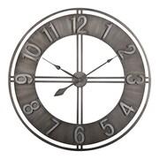 "Offex Home 30"" Industrial Loft Wall Clock, Metal (OF-73003)"